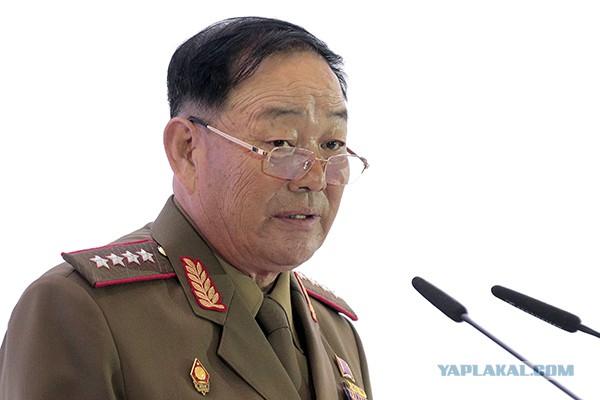 Телевидение КНДР показало расстрелянного генерала