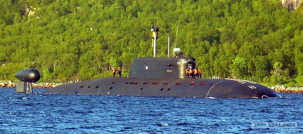 атомная подводная байдарка проекта 945 морская щука  sierra class