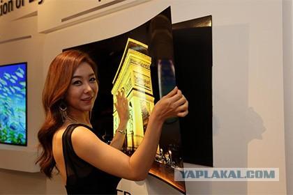 LG анонсировал ТВ толщиной менее 1 мм