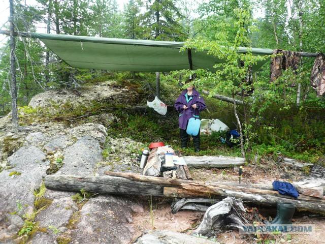 рыбалка север пяозера летом