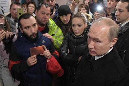 Путин анонсировал кадровые решения в связи с пожаром в Кемерове