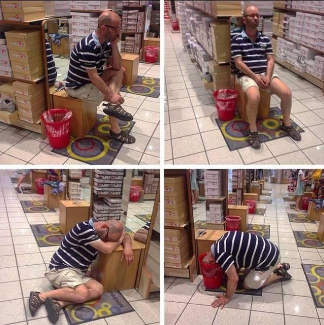 """Бесконечно печальная тема: мужчины и любимый женщинами """"шопинг"""""""