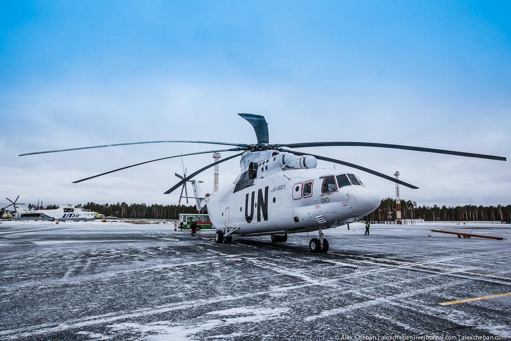 Самый большой в мире вертолет