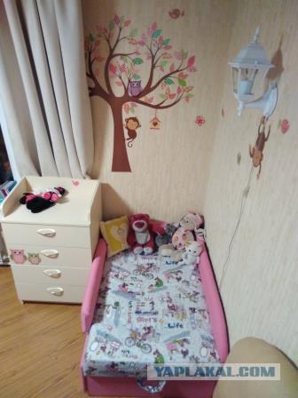 Как я детскую кровать переделала. Часть 2