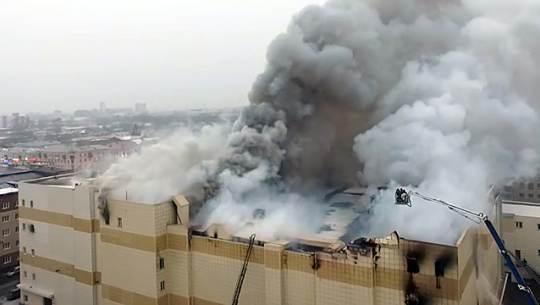 СК возбудил дело о халатности в отношении командира пожарного звена в Кемерово