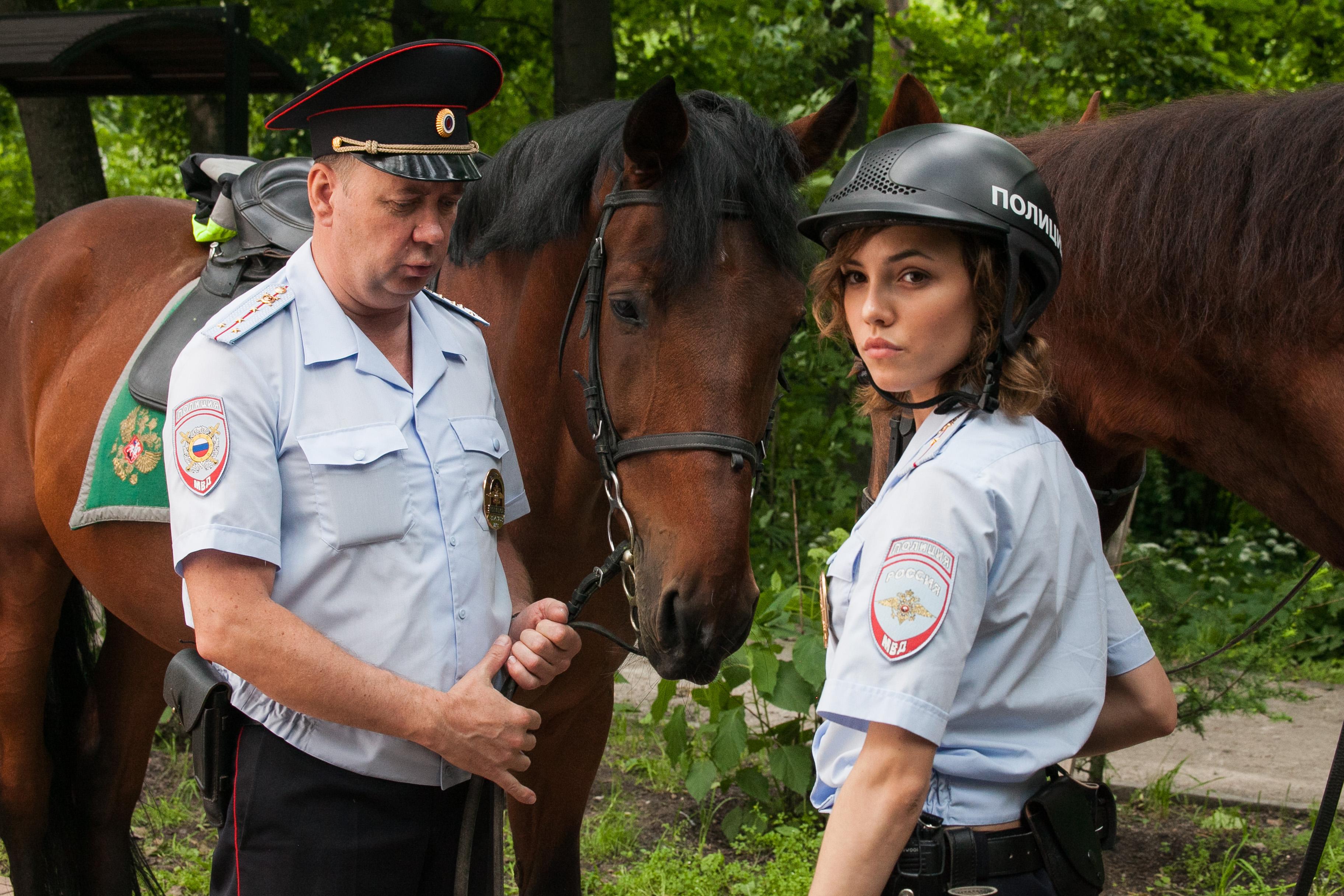 Голая Настя Из Сериала Конная Полиция