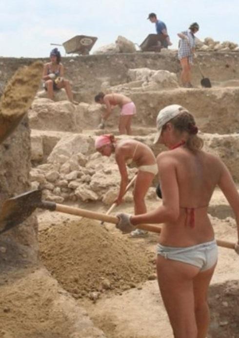 Вот он секс при раскопках