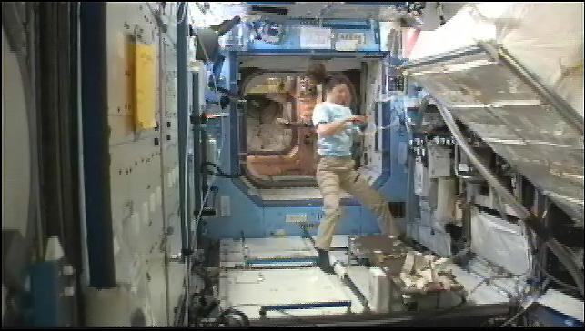 Международная космическая станция в формате 4k