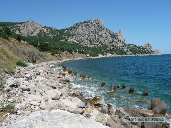 Крым, Партенит и его окрестности
