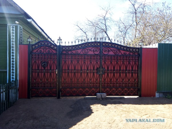 Как я ворота строил