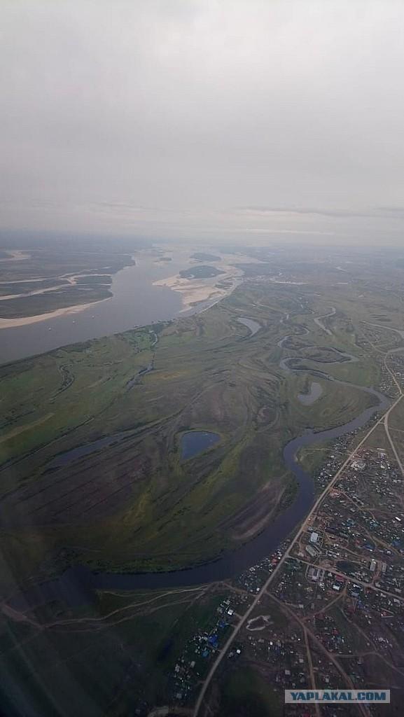 Река Лена катастрофически мельчает