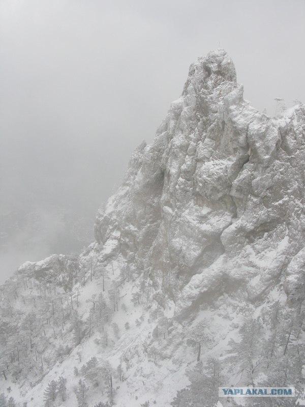 Зимнее путешествие на гору Ай-Петри, Крым
