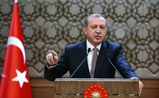 Эрдоган обвинил Россию
