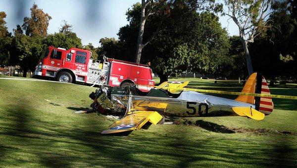 Харрисон Форд серьезно пострадал в авиакатастрофе