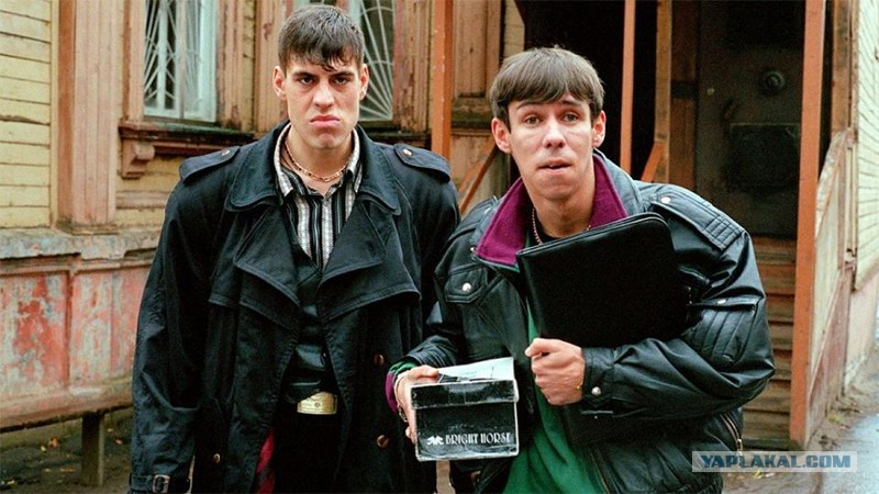 Бригада 2002  кадры из фильма  российские сериалы