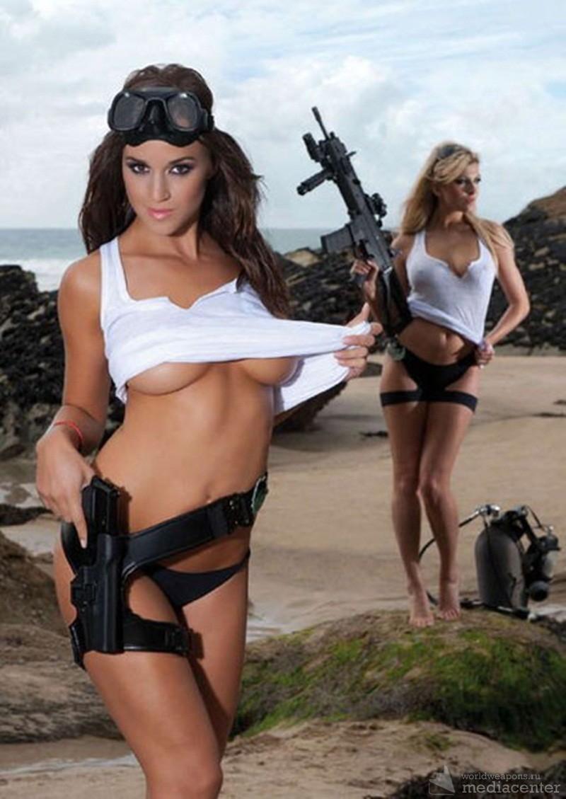 Красивые женщины с оружием фото фото 517-809