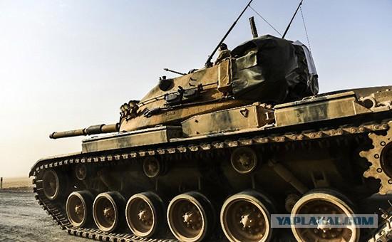 Турки начали ограниченную сухопутную операцию в Сирии