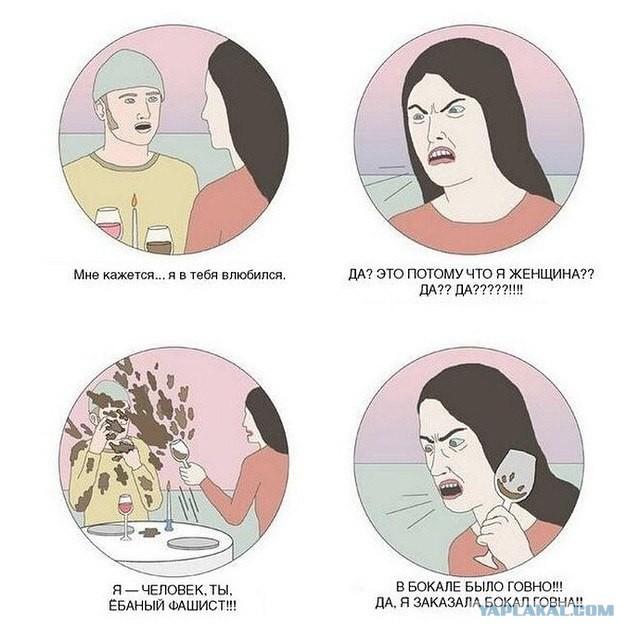 Феминизм левел 89