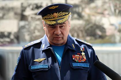 Путин уволил главкома ВКС Бондарева.