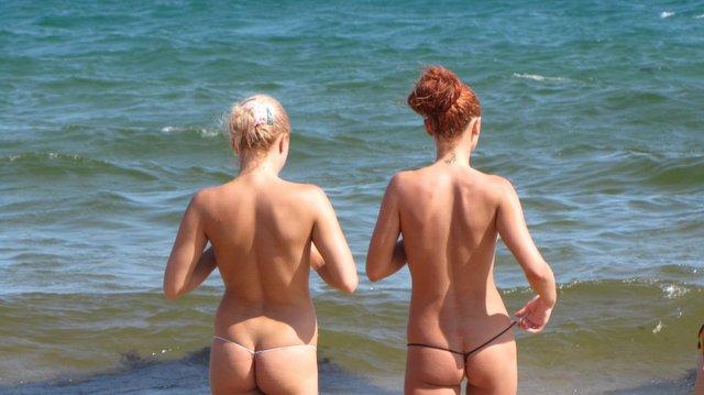 фото голых на диких пляжей крыма