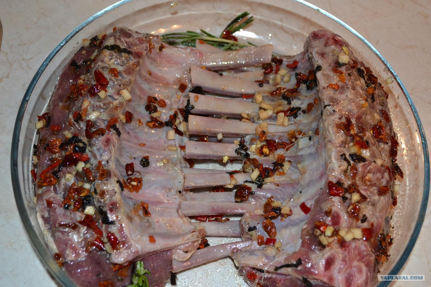 Ребрышки барашка в духовке рецепт