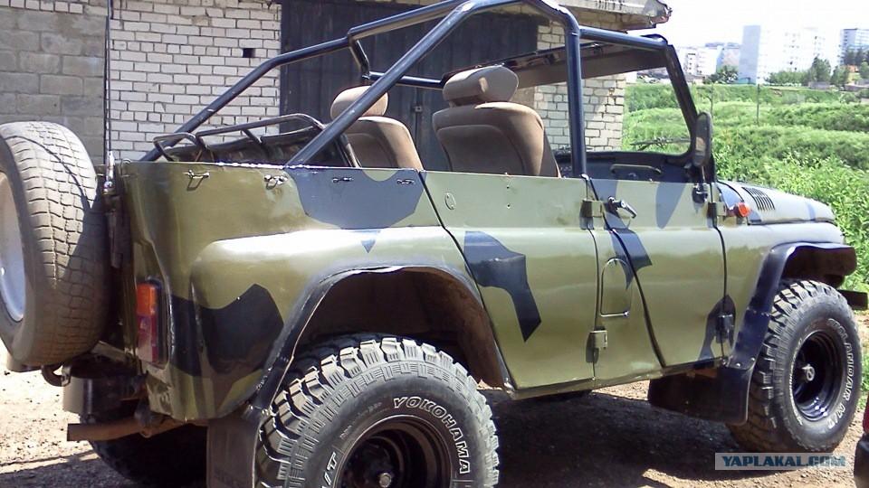 Тюнинг кузова кабриолет уаз 469 своими руками