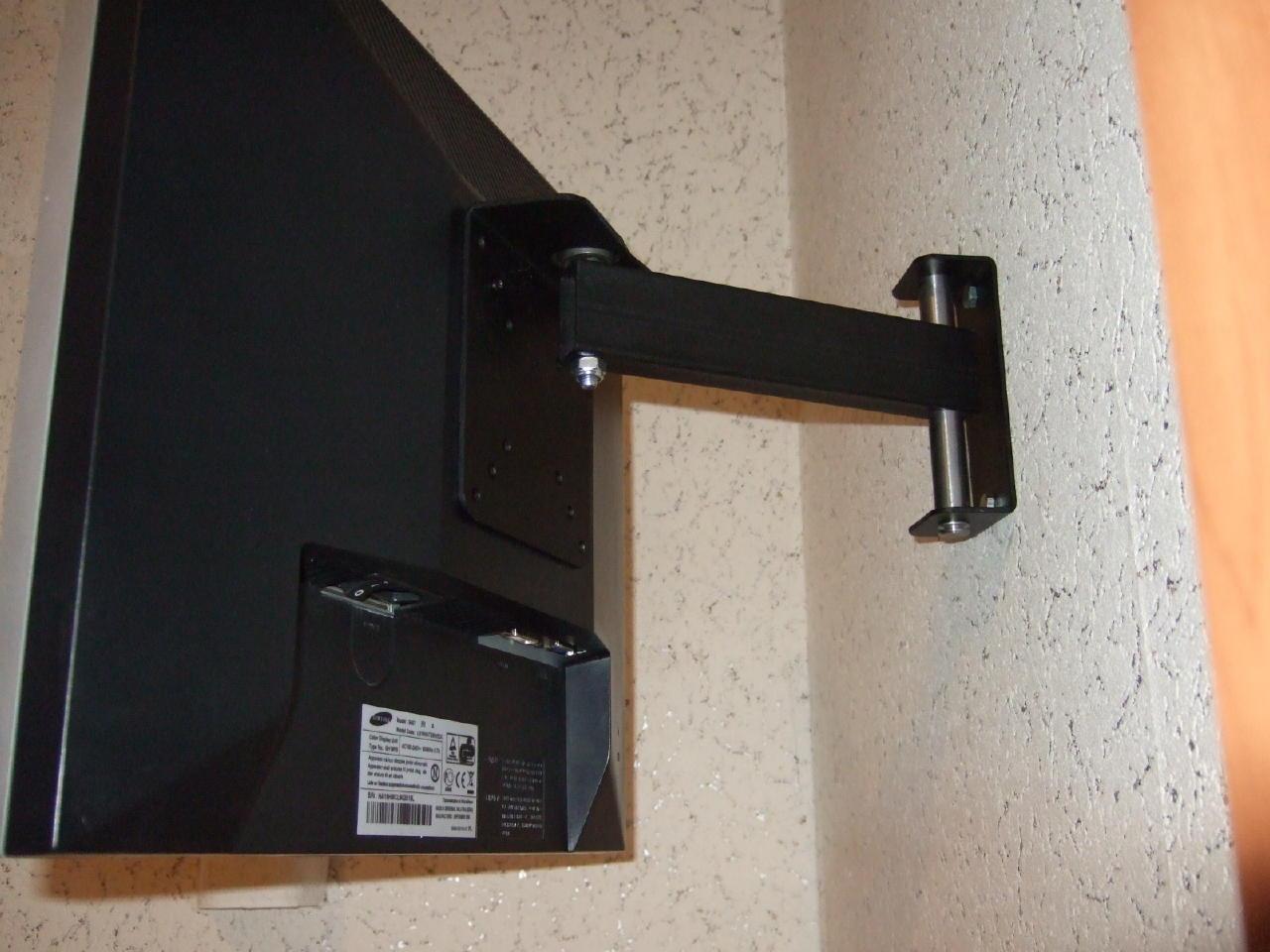 Крепления под телевизор на стену своими руками