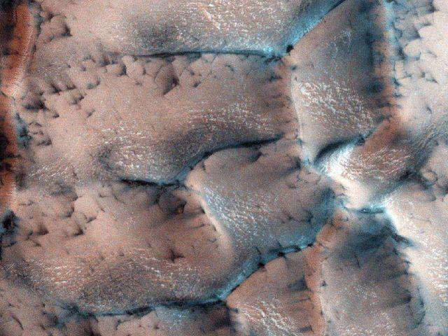 На Марс пришла зима
