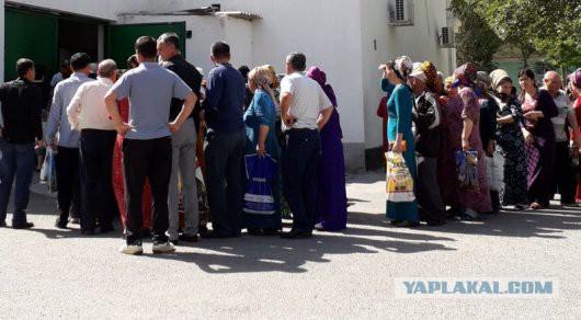 Туркменистан охватил кризис: Хлеб по паспорту, очередь за мукой занимают за месяц!