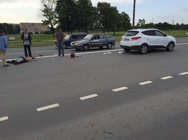 Полковник юстиции насмерть сбила пешехода в С-Пб.