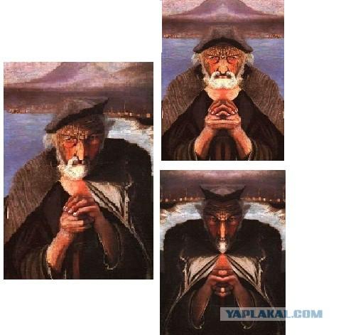 портрет рыбака венгерского художника