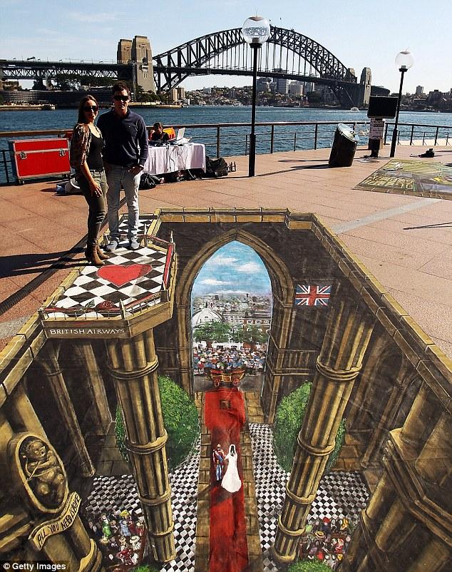 Уличное 3D из Сиднея