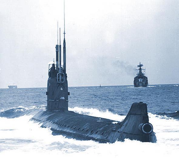 сколько подводных лодок было в ссср в 1990 году
