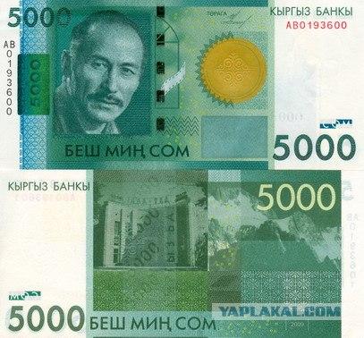 Курс валют тенге сом