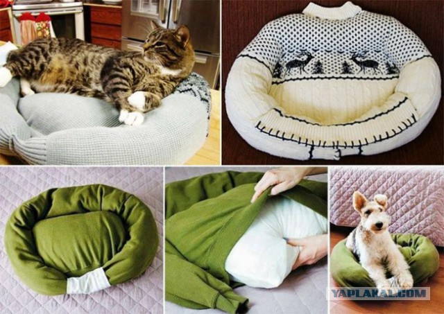 Лежак своими руками для животных