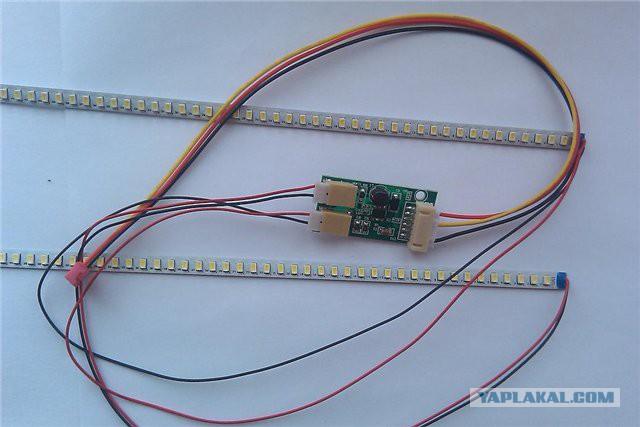 Как сделать светодиодную подсветку для ноутбука