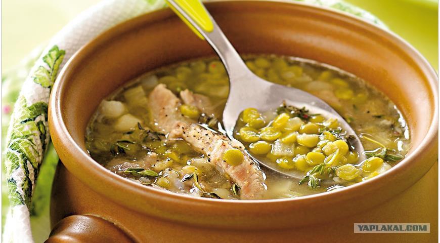 Гороховый суп лазерсон
