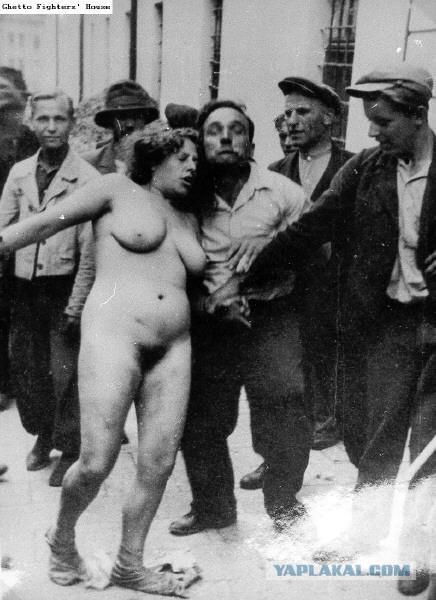 Фото голых евреек в концлагерях
