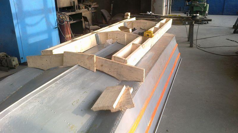 изготовление стапеля для лодок