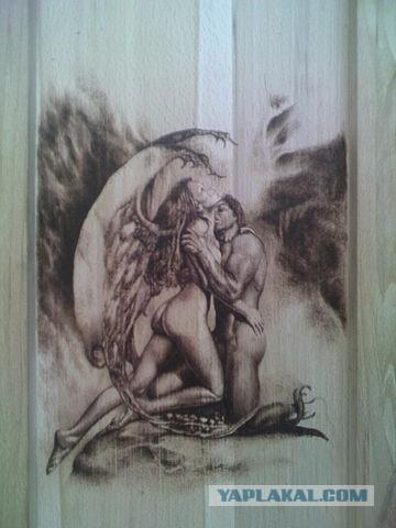 Моя пирография (выжигание по дереву).