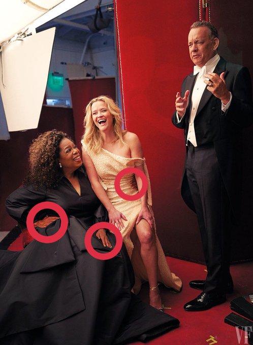 Создатели обложки Vanity Fair перестарались с фотошопом