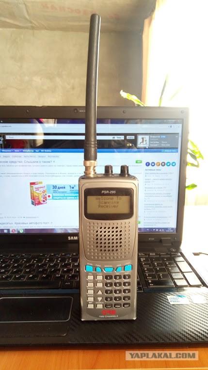 Продам портативный радиосканер GRE PSR-295