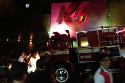 Пожар в бразильском клубе