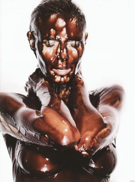 У Хайди Клум все в шоколаде