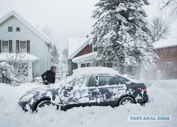 США: Выпало уже 1,7 метров снега