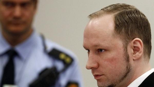 Суд Норвегии рассмотрит апелляцию против признания условий заключения Брейвика «бесчеловечными»