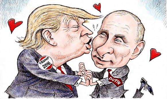 Политические анекдоты о Дональде Федоровиче Трампе