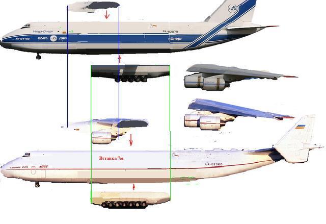 Ан-225 поднимает пыль
