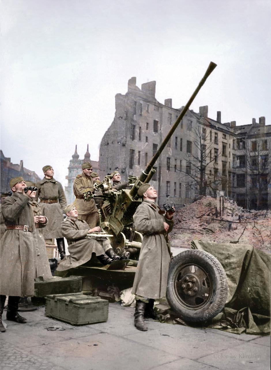 Цветные  великой отечественной войны