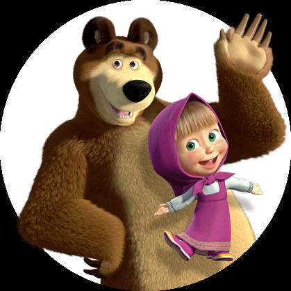 вставить лицо маша и медведь фото
